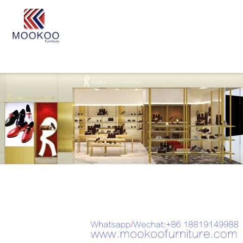 3D Shoe Store Furniture Design