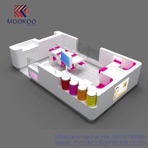 Cosmetics Retail Shop Display Fixture